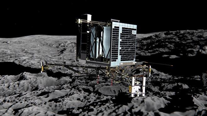 El robot Philae vuelve a emitir señales tras siete meses inactivo