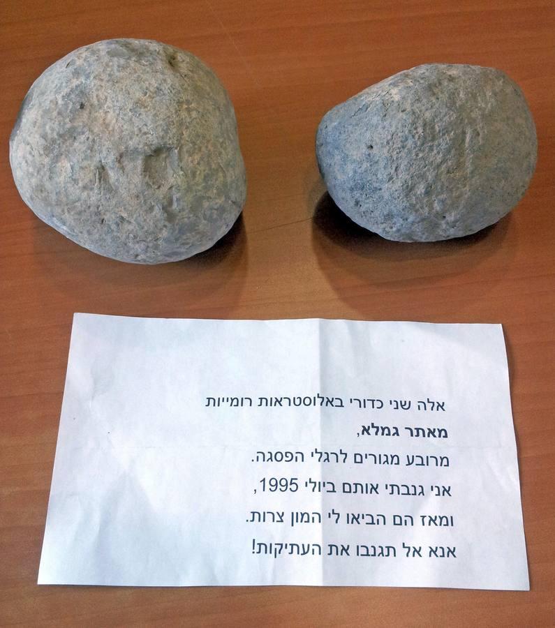 Un ladrón israelí devuelve su botín 20 años después