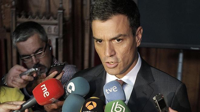 Pedro Sánchez, a Rajoy: «Hay silencios que resultan confesiones»