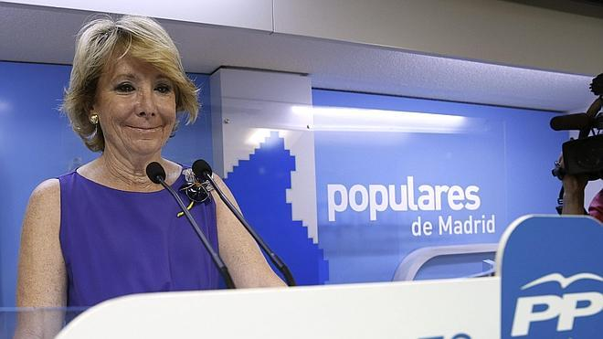 Aguirre exigirá expulsar del PP al exdiputado de la Púnica que presumió de «tocarse los cojones»