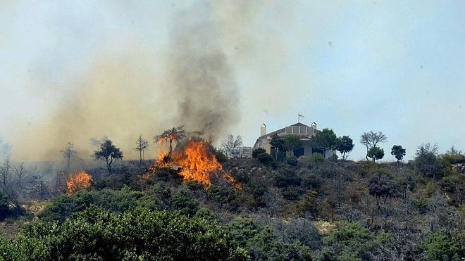 Los incendios en 2015 doblan en superficie quemada la de los últimos dos años