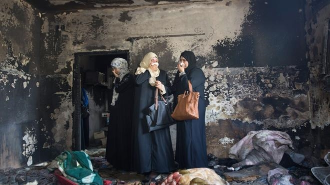 Muere el padre del bebé palestino fallecido en un ataque de extremistas judíos