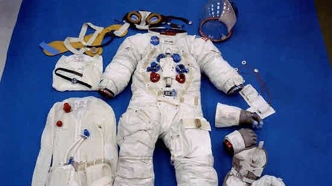 El traje espacial del Apolo XI se salvará gracias a las donaciones de particulares