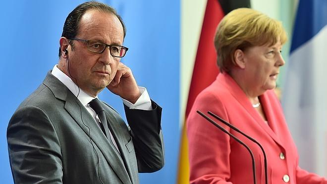 Merkel y Hollande reclaman una respuesta «unificada» de Europa ante la inmigración