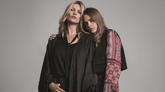 Kate Moss y Cara Delevingne tienen algo en común