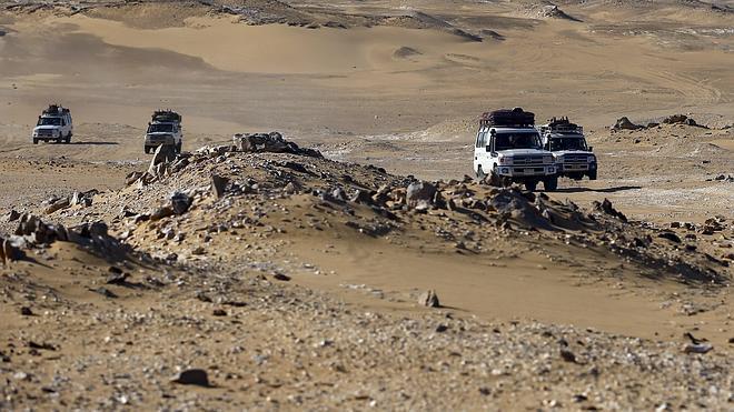 Los turistas mexicanos fueron bombardeados por el Ejército egipcio desde el aire