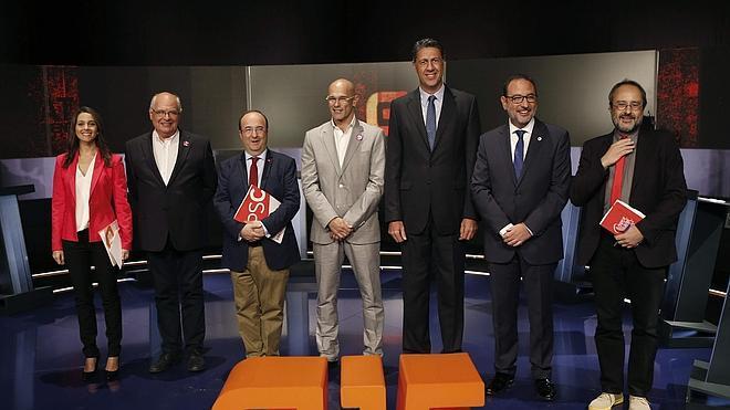 Europa centra el 'cara a cara' de los candidatos en Cataluña