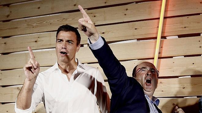 Iceta pide el voto por una reforma constitucional que «hermane» Cataluña y España