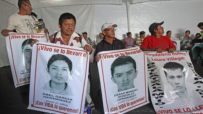 Peña Nieto decepciona a los padres de los 43 estudiantes desaparecidos de Iguala