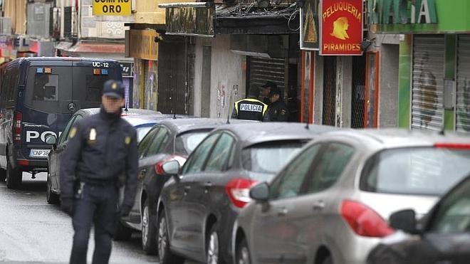 Los detenidos componían una célula yihadista de «máximo riesgo» con planes para atentar en Madrid