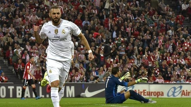 Florentino Pérez muestra su apoyo a Benzema