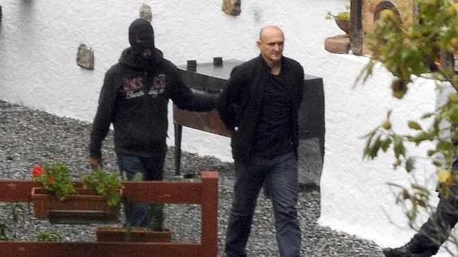 En libertad Ramón Sagarzazu, uno de los detenidos en la operación de Baigorri