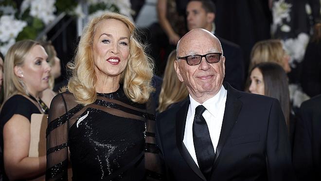 El magnate de los medios Rupert Murdoch se casará con Jerry Hall