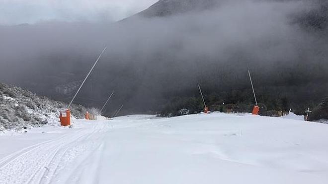 El esquí vuelve a La Pinilla