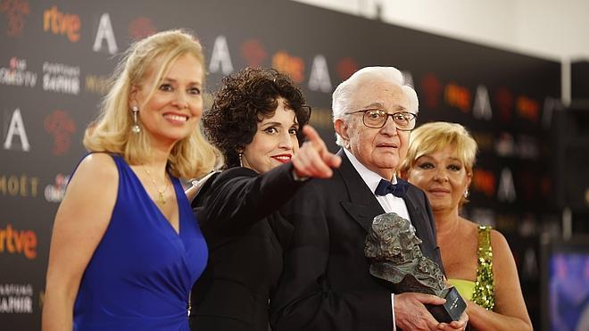 Mariano Ozores dedica el 'cabezón' a todos «sus actores»