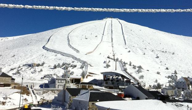 Esperanza y mucha nieve para el Sistema Central