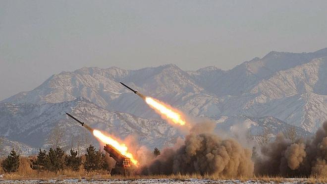 Corea del Norte realiza disparos de artillería cerca de la frontera