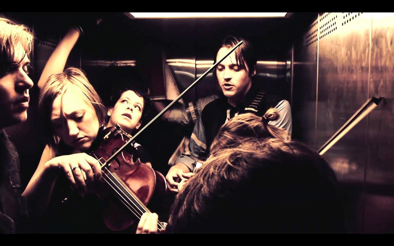 De concierto en un ascensor