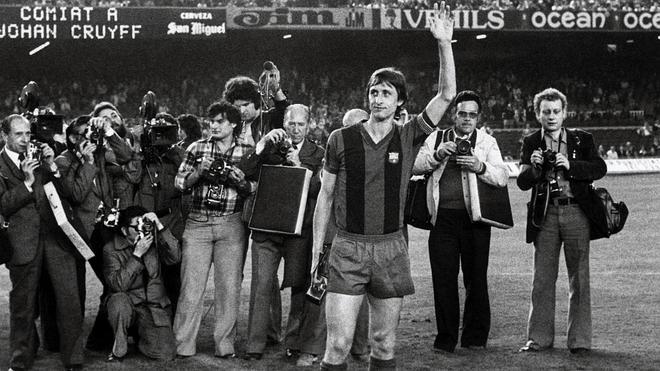 El mundo del fútbol llora a Cruyff