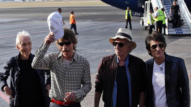Los Rolling Stones llegan a Cuba para poner música a la era del deshielo