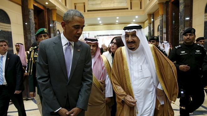 Obama aborda con los países del Golfo las crisis regionales