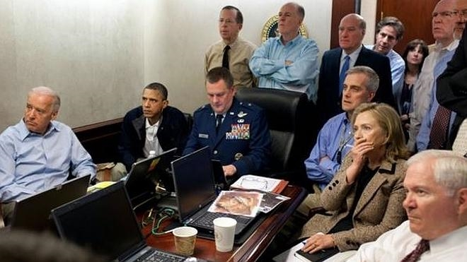 La operación contra Bin Laden, tuit a tuit