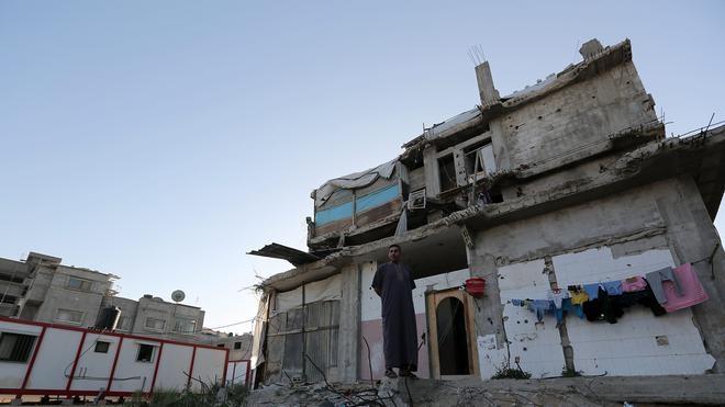 La aviación israelí vuelve a atacar varios objetivos en la Franja de Gaza
