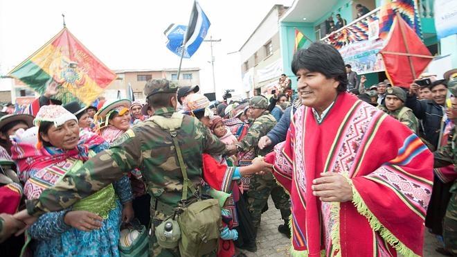 La expareja de Evo Morales insiste en que el hijo de ambos está vivo