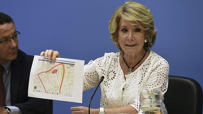 El PP pidió explicaciones «hace mucho tiempo» a Aguirre por el 'caso Púnica'