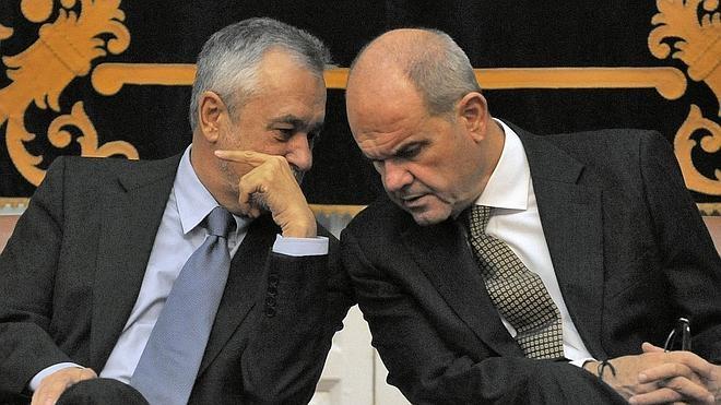 Chaves y Griñán, a un paso del juicio por el caso de los ERE