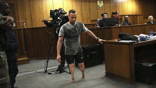 El fiscal pide un mínimo de 15 años de prisión para Pistorius