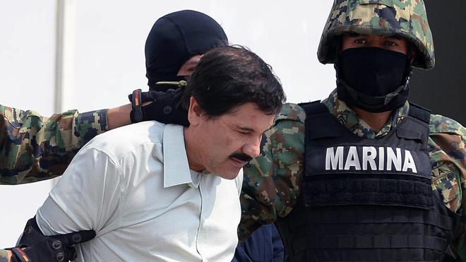 La defensa de 'El Chapo' presenta dos amparos para evitar la extradición a EE UU