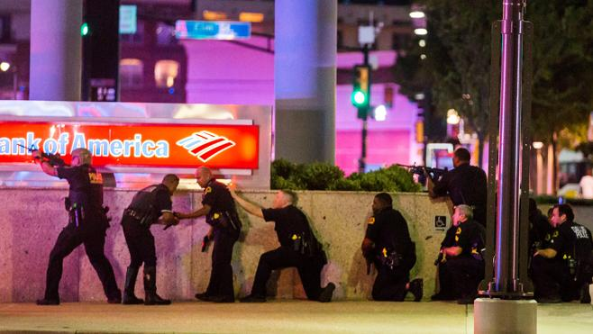 El atacante de Dallas era un reservista que había estado en Afganistán