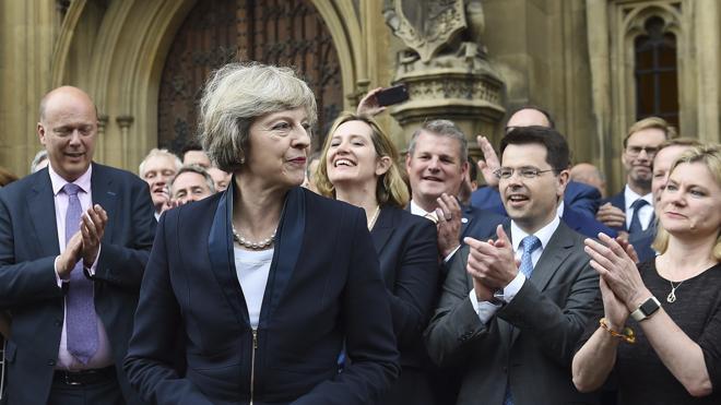 Theresa May dice que hará del 'Brexit' un «éxito» para el Reino Unido