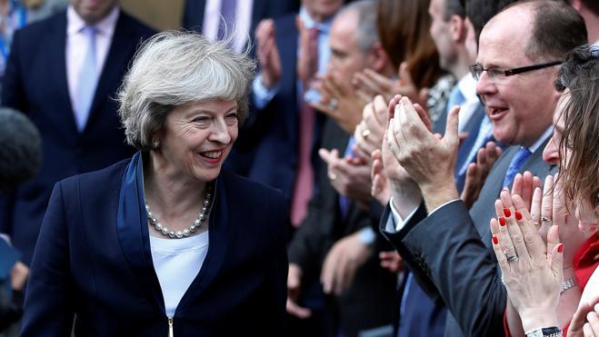 Theresa May se convertirá en primera ministra británica este miércoles