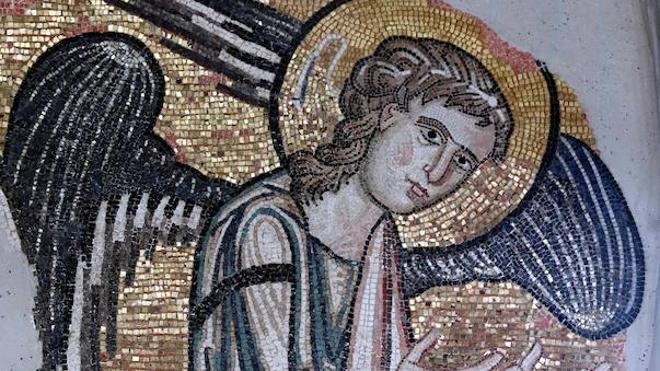 Descubren un nuevo ángel en la Basílica de la Natividad en Belén