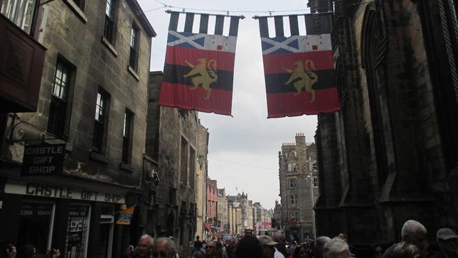 Edimburgo, un paseo por el medievo