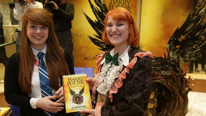La 'pottermanía' vuelve a las librerías