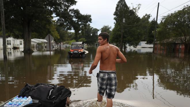 Louisiana comienza a recuperarse de las fuertes inundaciones