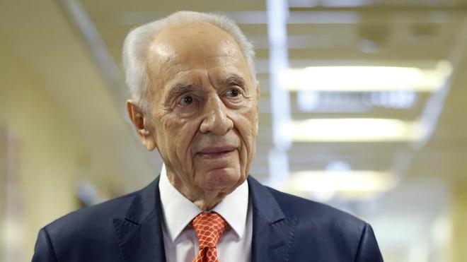 Simón Peres «mejora» pero sigue grave tras sufrir una hemorragia cerebral