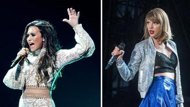 Demi Lovato contra Taylor Swift y su 'tropa' de amigas: «Eso no es feminismo»