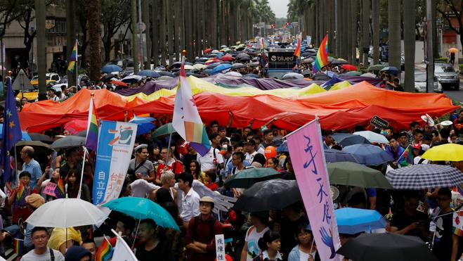 Taipei, capital del orgullo LGBT