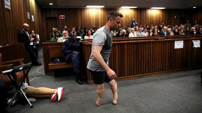 Oscar Pistorius, trasladado a una cárcel mejor adaptada para los discapacitados