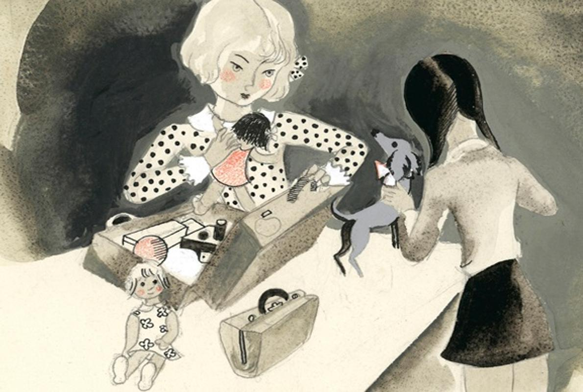 Serny, el dibujante que imaginó a la niña Celia
