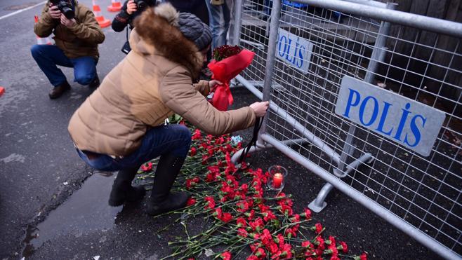 Las nacionalidades de las víctimas del atentado en Estambul