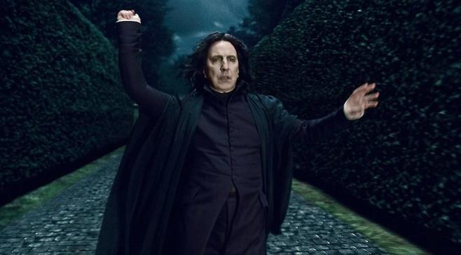 Cuando Harry Potter invitaba a Severus Snape