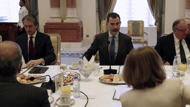 Felipe VI prevé que España logrará «muchos más» proyectos en Arabia Saudí