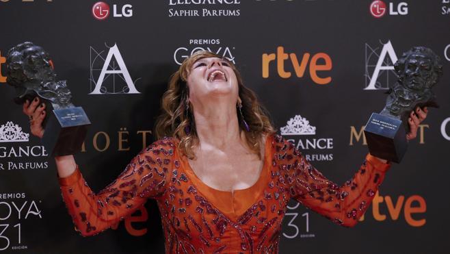 Emma Suárez, sobre el papel de la mujer: «Solo cuando te lo ponen difícil te hacen crecer»
