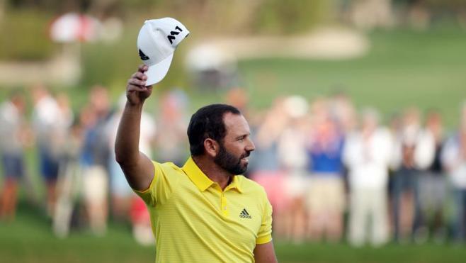 Sergio García gana el Abierto de Dubái