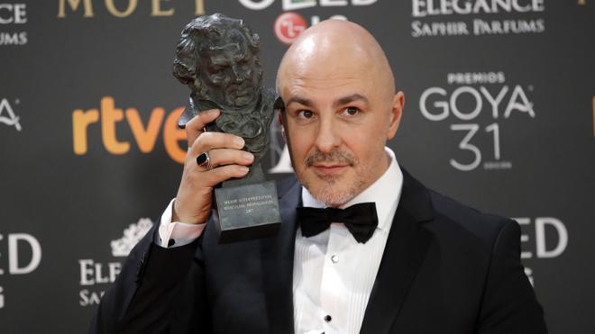 Roberto Álamo: «El Goya profesionalmente no aporta nada»